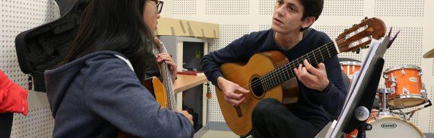 Inscriptions à l'école de musique