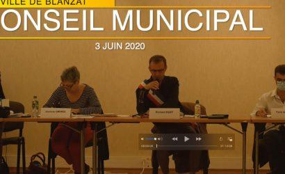 Conseil municipal du 3 juin 2020