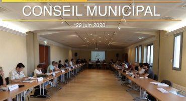 conseil municipal du 30 juin 2020