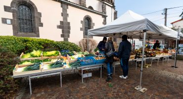le marché de Blanzat
