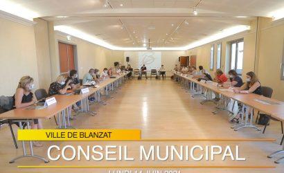 CONSEIL MUNICIPAL DU LUNDI 14 JUIN 2021