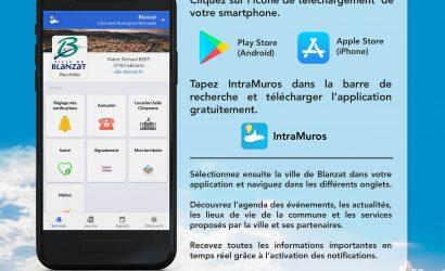 IntraMuros : Blanzat dans votre téléphone